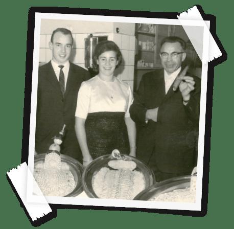 Claus, Ilse und Leonhard Hahn - Die Gründer der Familiengeschichte der Hahn Zelte GmbH