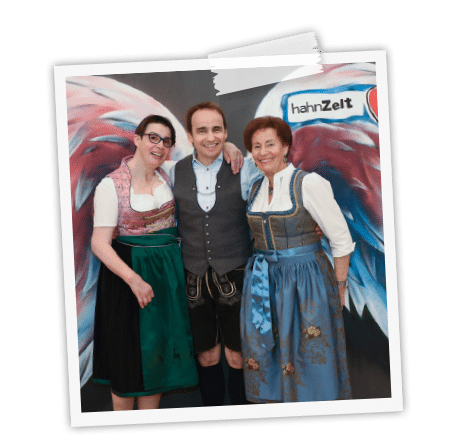 Die aktuelle Geschäftsführung der Hahn Zelte GmbH